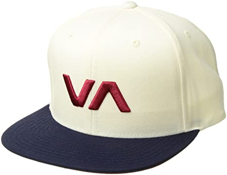 Amazon.com  RVCA Men s VA Snapack II Hat 0cb00fe660df