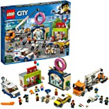 LEGO City Donut Shop Opening 60233 Store Opening Build and Play with Toy Taxi, Van and Truck with Crane, Easy Build with…