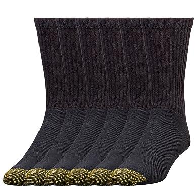c5aaa239566c Gold Toe Men's Cotton Crew Socks, 12 Pairs at Amazon Men's Clothing ...