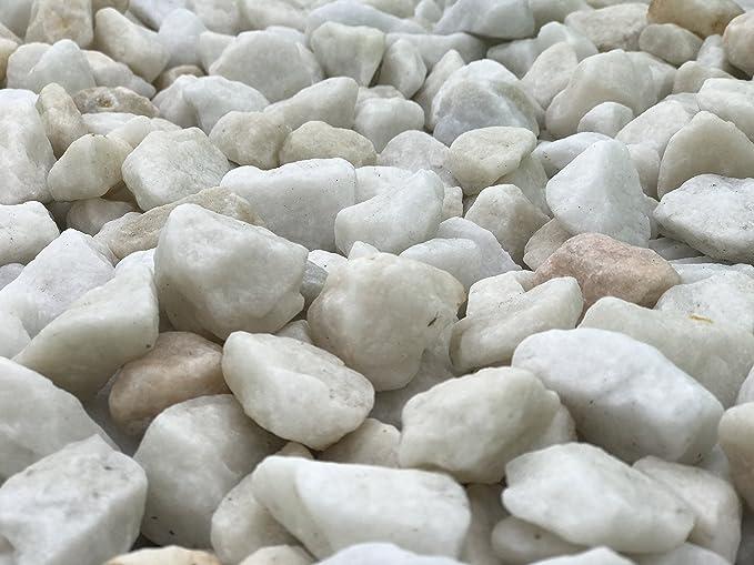 Rockin- Gravilla decorativa de mármol para jardín, 15 kg. : Amazon.es: Jardín