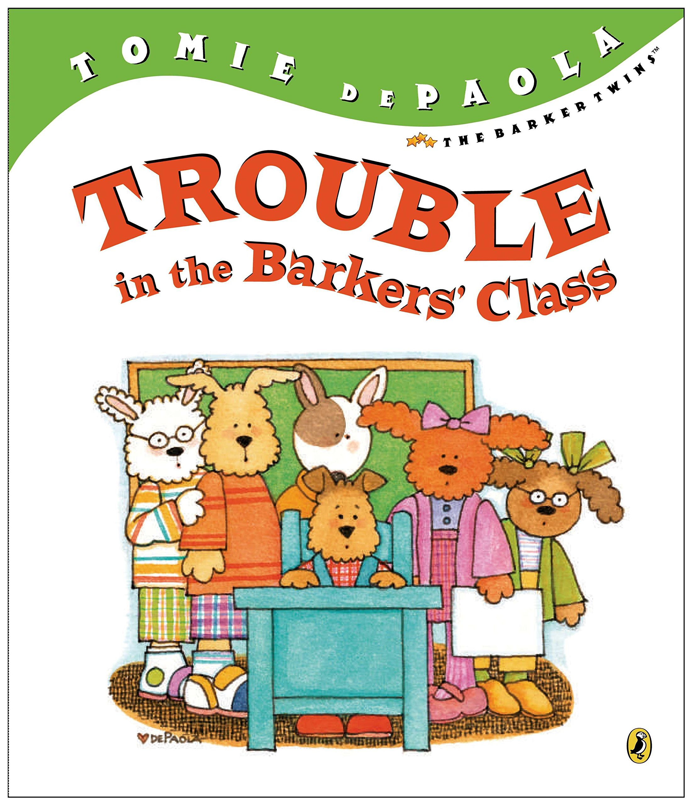 Read Online Trouble in the Barkers' Class (The Barker Twins) pdf epub