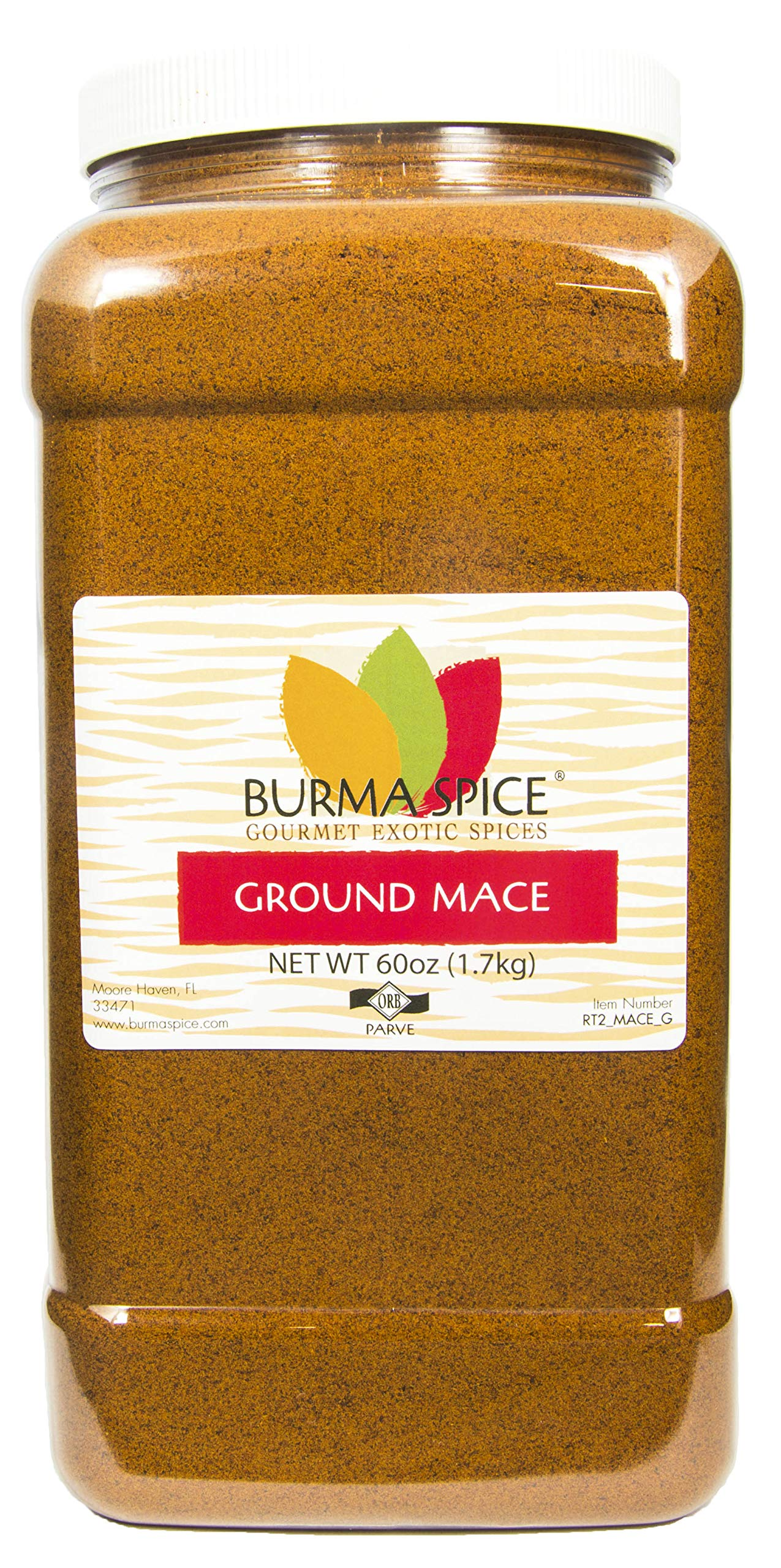 Ground Mace (Javathri) Natural Aromatic Pure Loose Herb Spice (60 oz.)