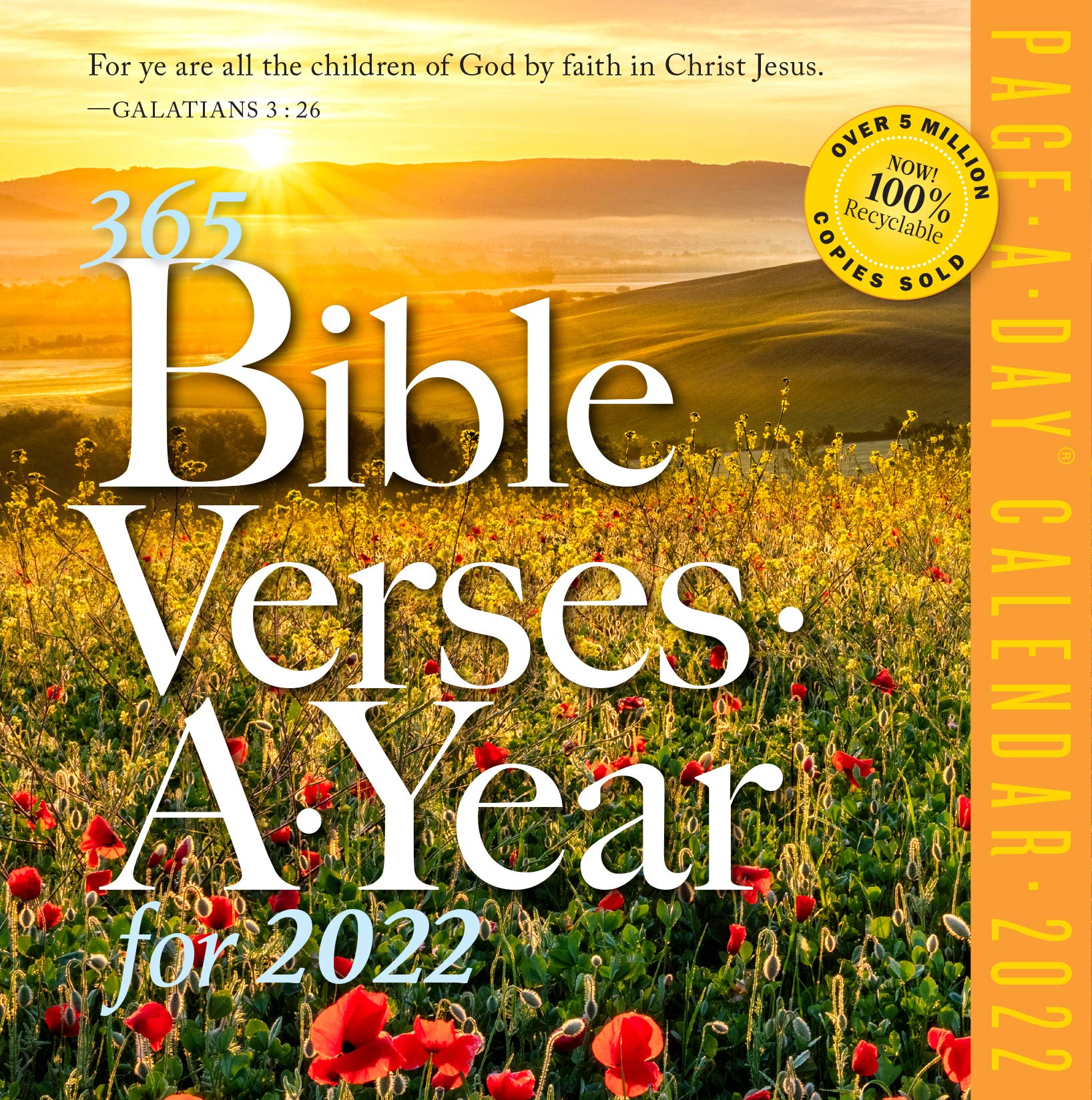 Day Of Year Calendar 2022.Buy 365 Bible Verses A Year Page A Day Calendar 2022 Book Online At Low Prices In India 365 Bible Verses A Year Page A Day Calendar 2022 Reviews Ratings Amazon In