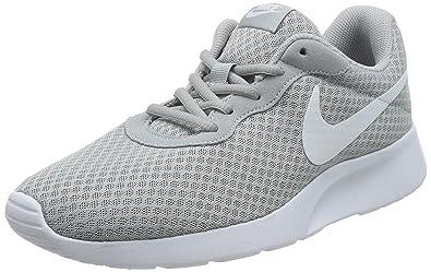 1108a7351a1 Nike Men s Tanjun Wolf Grey White Running Shoe 8.5 Men US