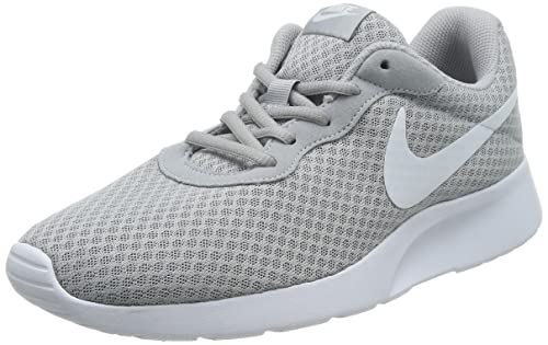 7f9adaa586570d Nike Mens Tanjun Running Sneaker Wolf Grey White 11  Buy Online at Low  Prices in India - Amazon.in