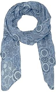 Cashmere Dreams Pañuelo de Seda para Mujer con Diseño de Cachemira de Zwilling Corazón