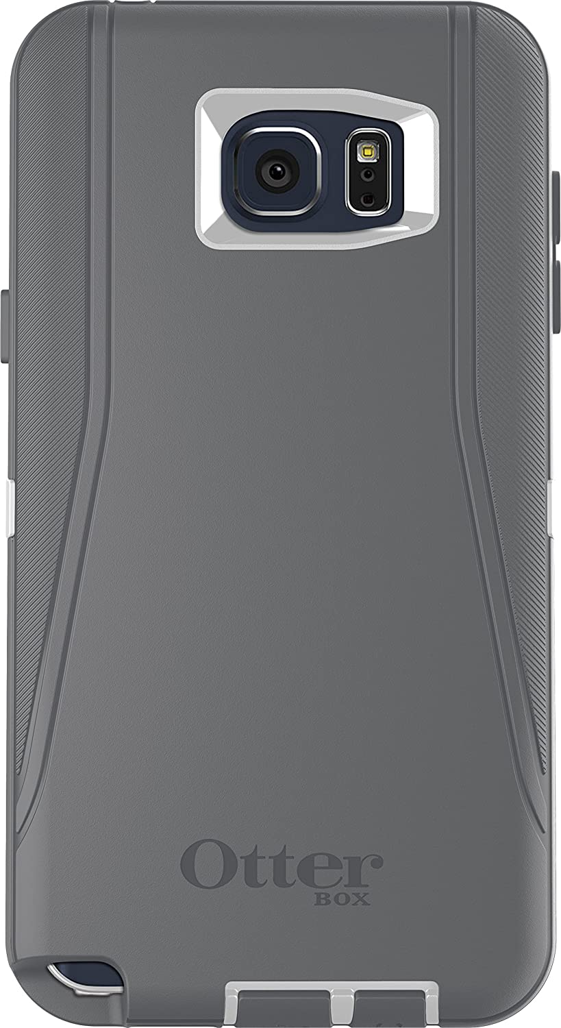 cheap for discount a480a f5013 OtterBox DEFENDER Cell Phone Case for Samsung Galaxy Note5 - Retail  Packaging - GLACIER (WHITE/GUNMETAL GREY)