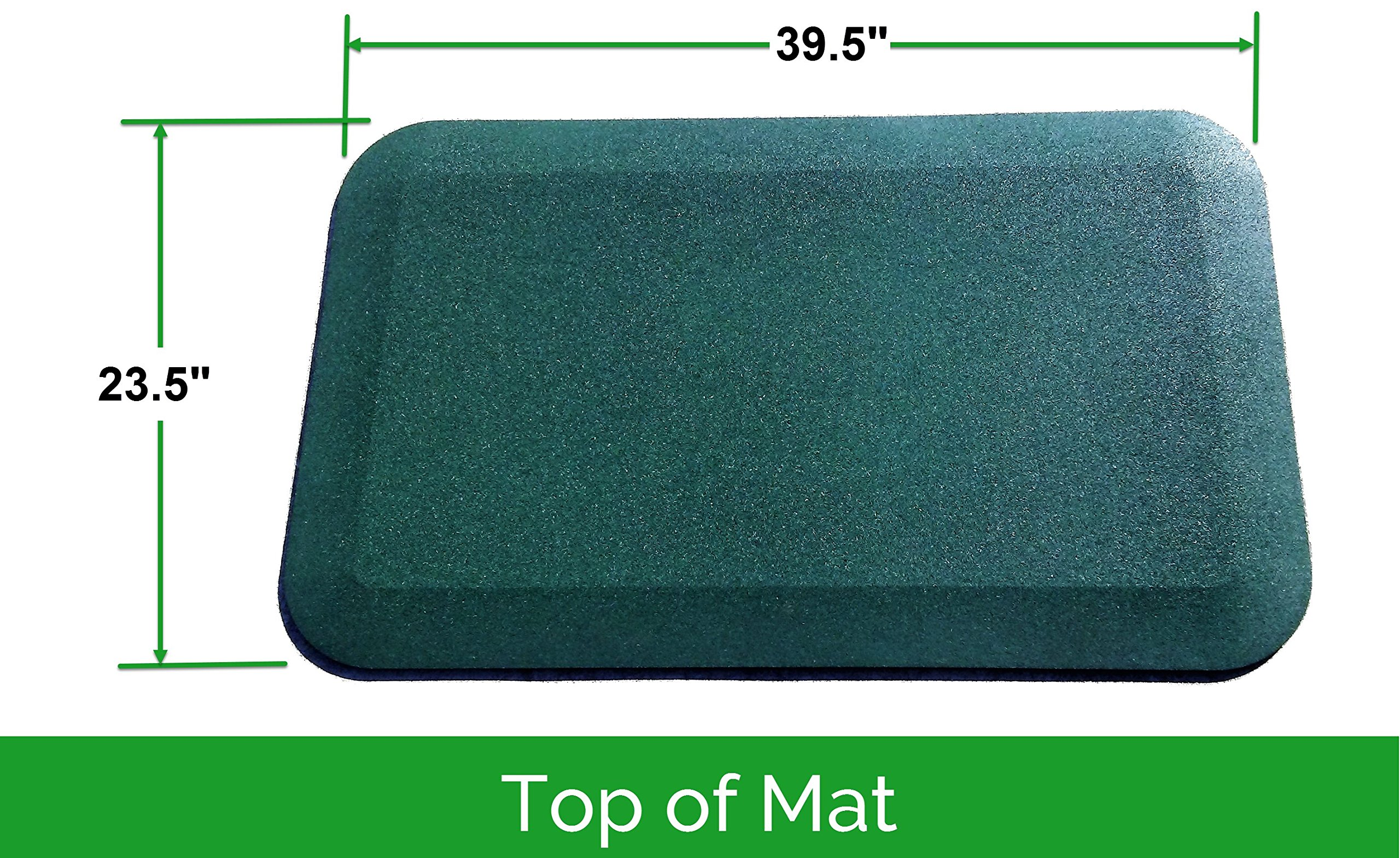 Slide & Swing Set Protective Rubber Mat | Certified Safe for Playground Surfaces (Set of 2) by Rubber Floors and More (Image #2)