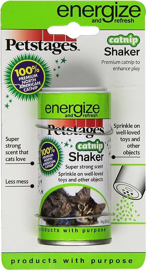 Amazon Com Petstages 721 Catnip Shaker For Cats Pet