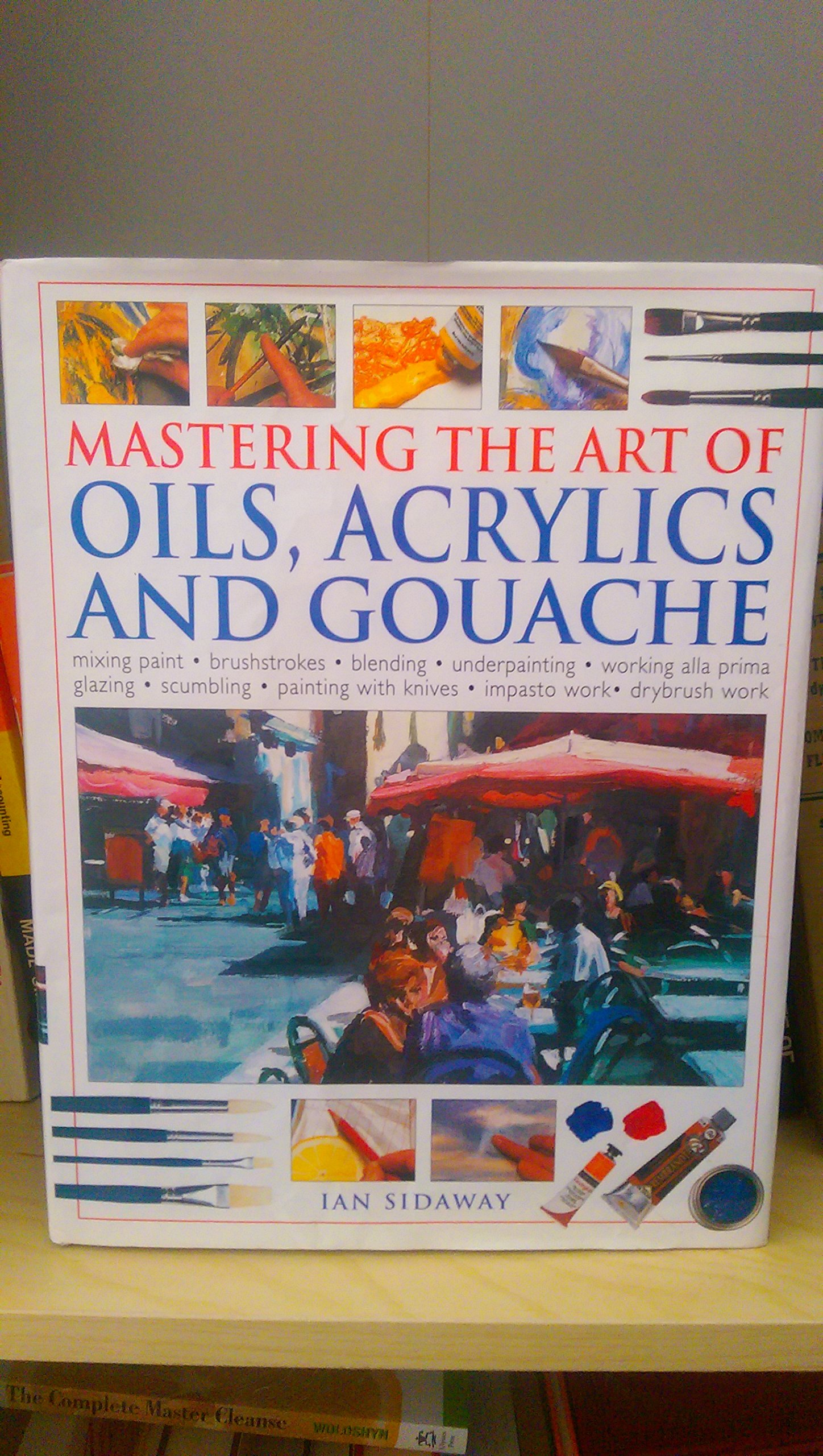 Mastering the Art of Oils, Acrylics and Gouache pdf