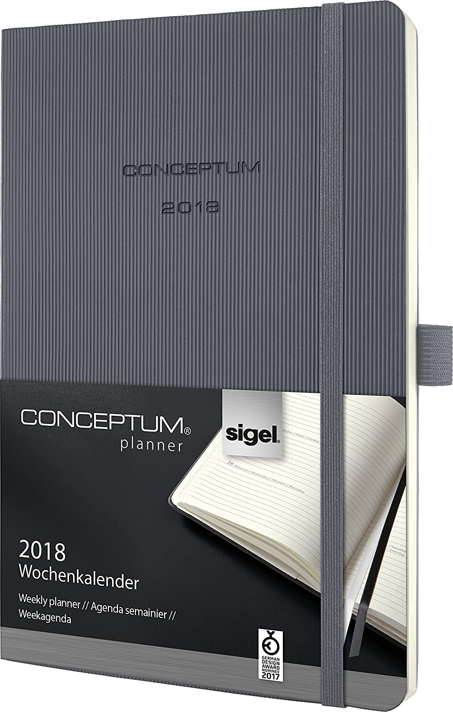A6 Softcover Conceptum dunkelblau weitere Modelle SIGEL C1933 Wochenkalender 2019 ca