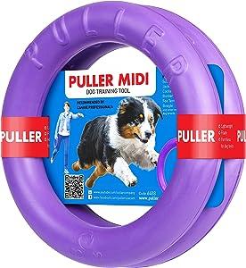Professional Dog Training Equipment and Bonus - Giant Medium K9 Large Dog Training Tool - Dog Supplies - Real Physical and Emotional Load Your Dog - Puller Plus