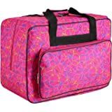 Homdox Sewing Machine Carrying Case Tote Bag - Universal Waterproof Rose Red