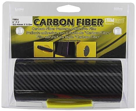 Amazon.com: Trimbrite T1850 Fibra de Carbono calcomanía ...