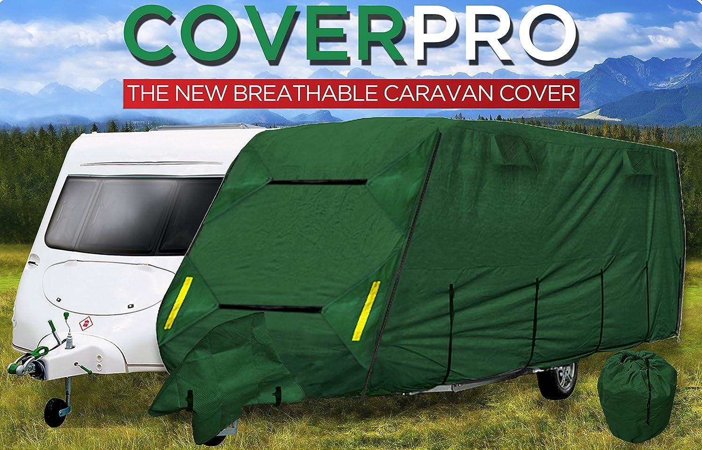 Housse de caravane 4 plis Coverpro Premium - 4, 3 m - 5, 2 m Crusader