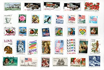 Usa Collectible Postage Stamps 100 Different Mint Unused