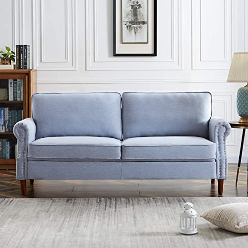 Knowlife Modern Futon Sofa Couch 3-Seater Sofa