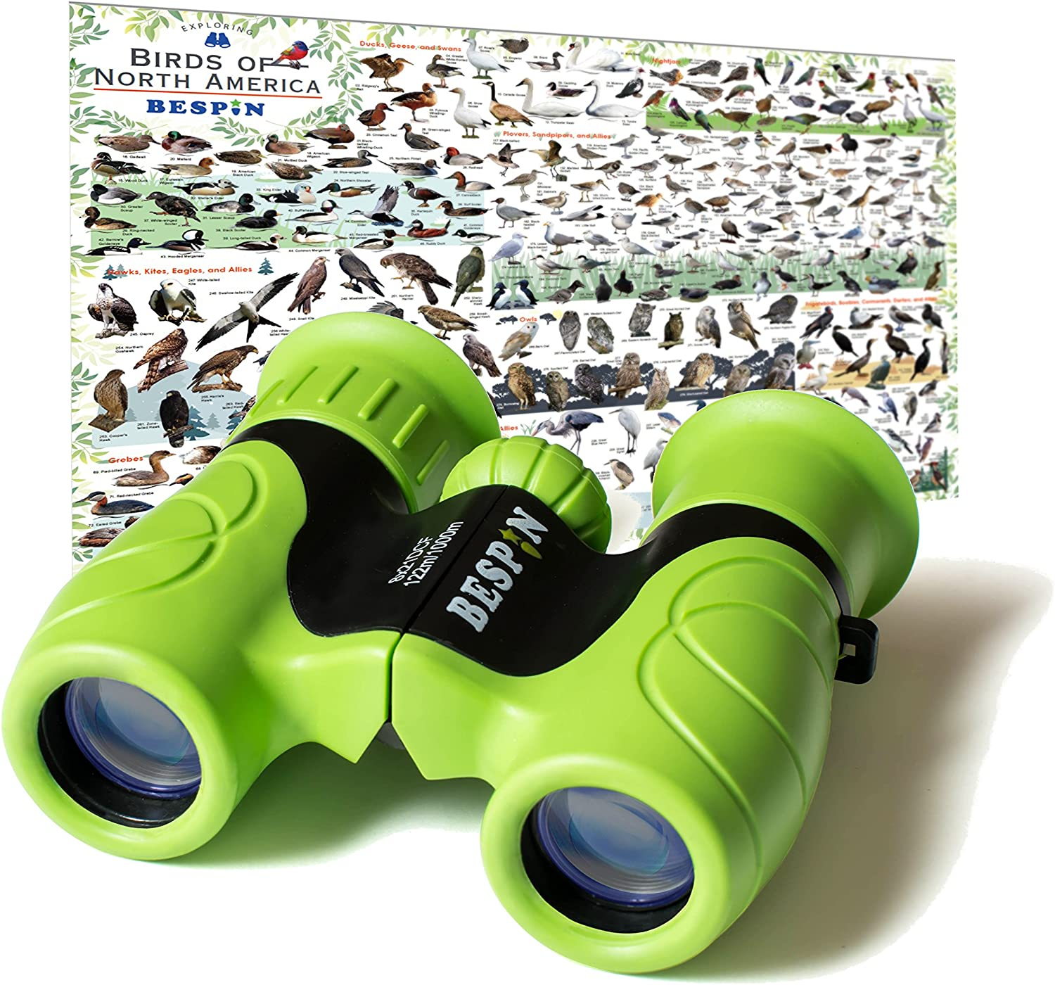 Vintage 8x21 GREEN Binoculars DCF Waterproof Bird watching Binoculars Sports