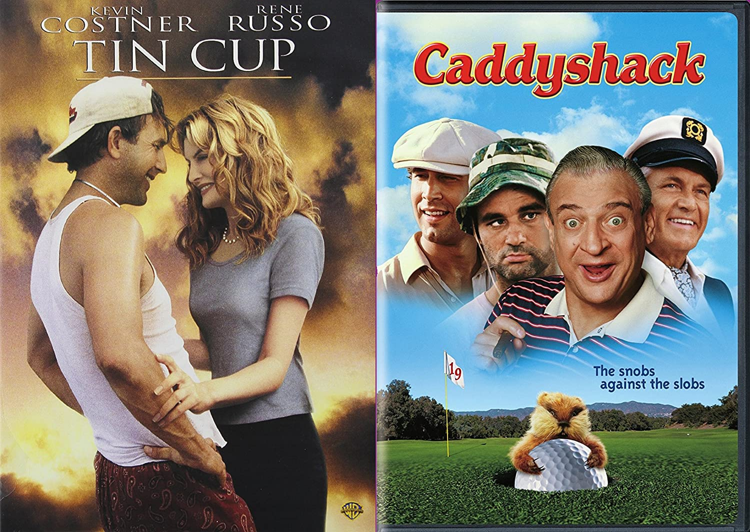 Amazon.com  Golfing Comedy Collection - Caddyshack   Tin Cup 2-Movie  Bundle  Rodney Dangerfield ca8bbbcfc61