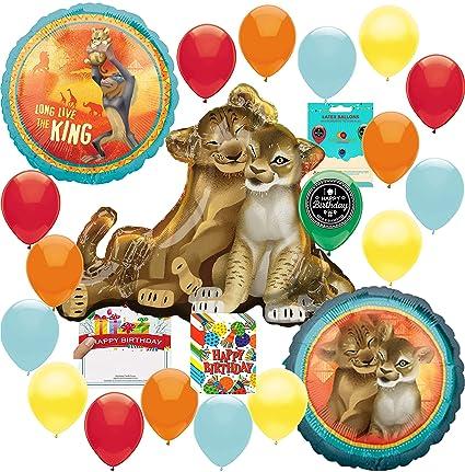 Amazon.com: The Lion King Party Supplies - Globo de ...