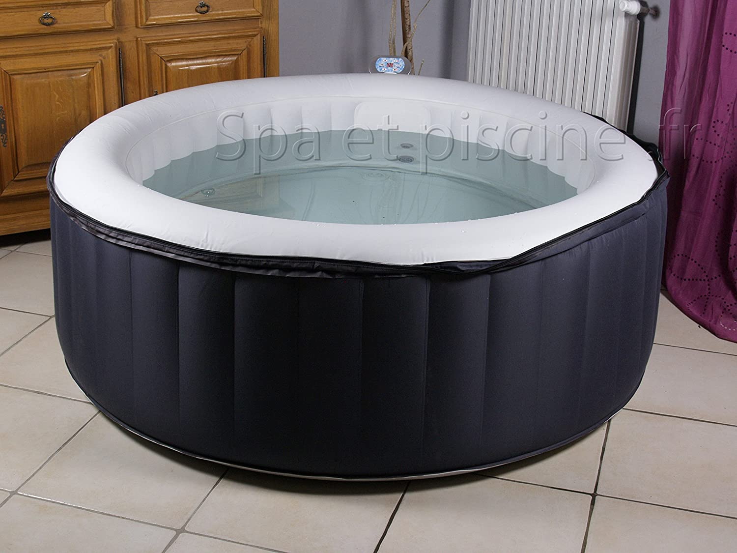 Spa hinchable water Health sonly 4 plazas + Proyector de ...
