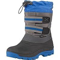 Arctix Kids T Bar Winter Boot, Nautical Blue, 1 Little Kid