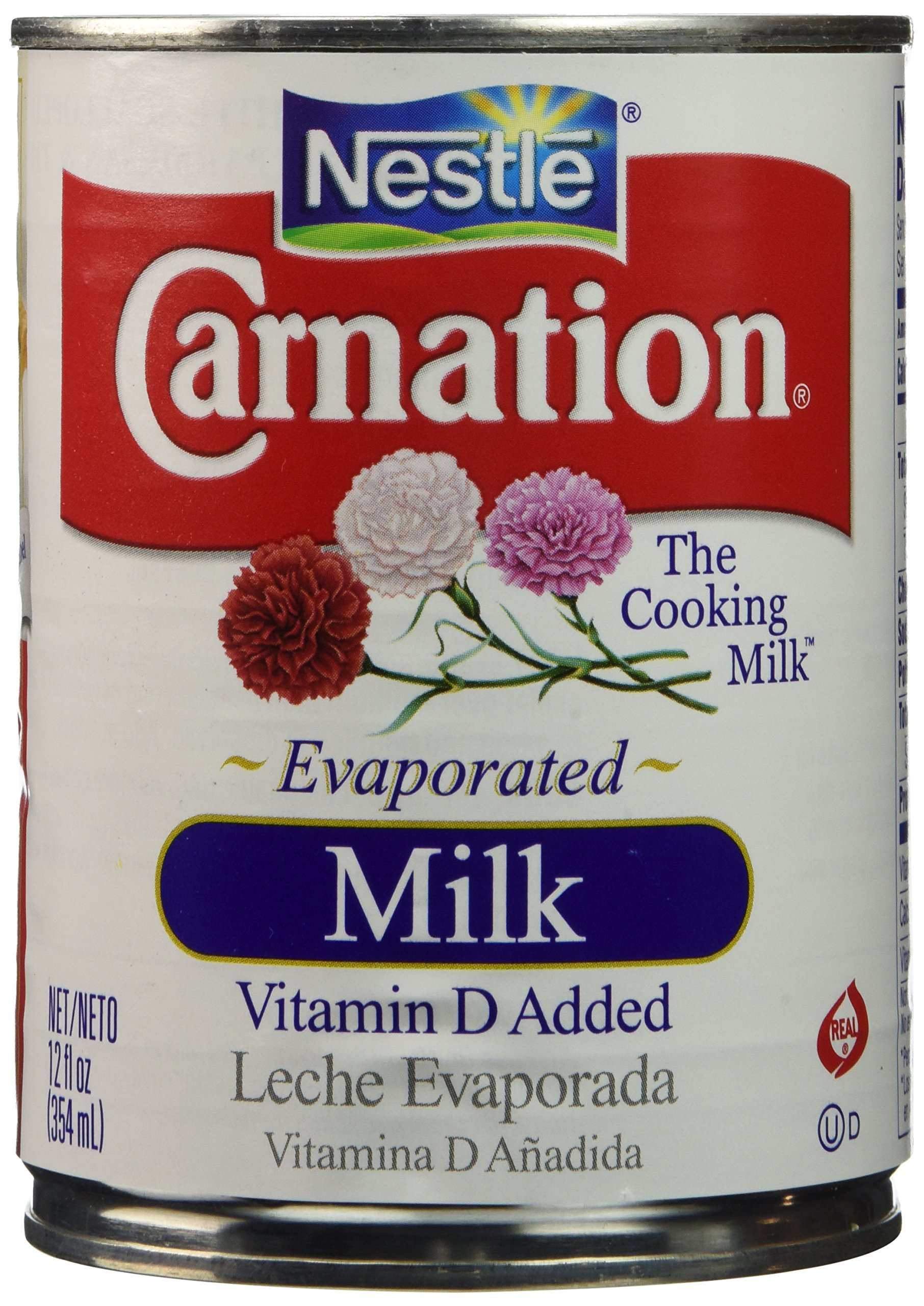 Carnation Evaporated Milk, 12 Cout by Nestle (Image #1)