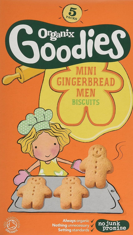 Organix Organic Goodies Mini Gingerbread Men 4 X (5x25g)