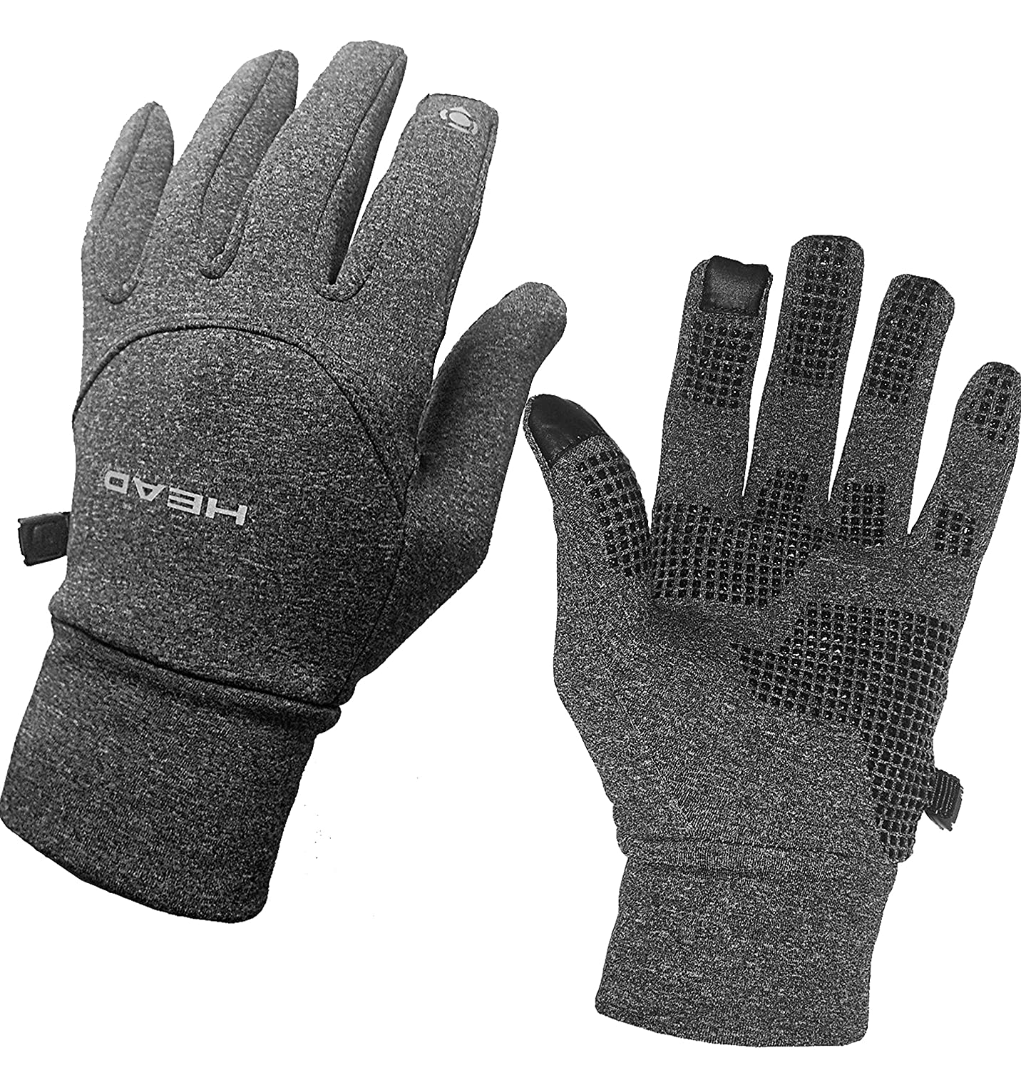 HEAD Digital Sport Running Gloves with Sensatec Touch Screen Compatible