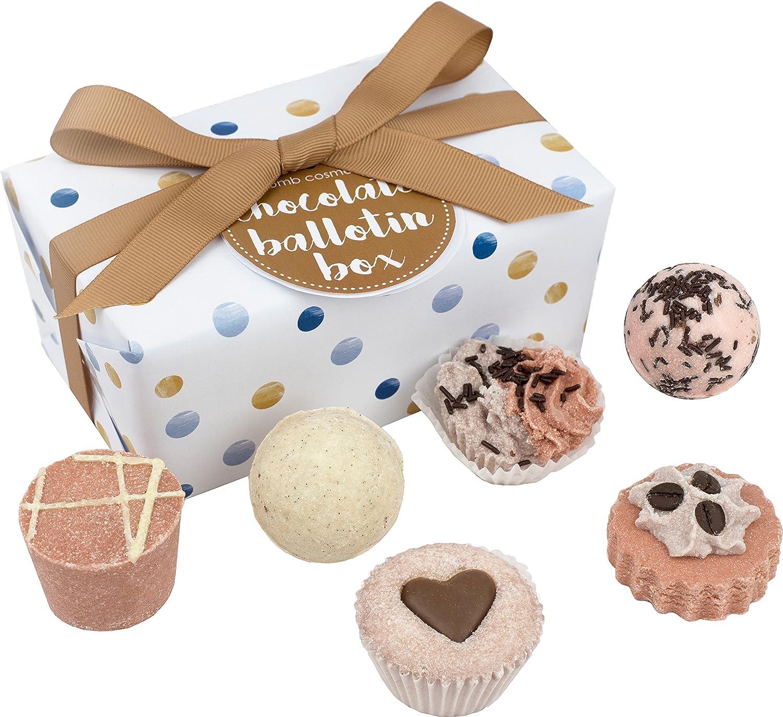 Bomb Cosmetics Chocolate Bath, Geschenkset, 1er Pack (1 x 6 Stück) 1er Pack (1 x 6 Stück) BALCHOC6