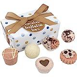 Bomb Cosmetics Chocolate Ballotin Assortment Bath Gift Set [Packaging may vary]