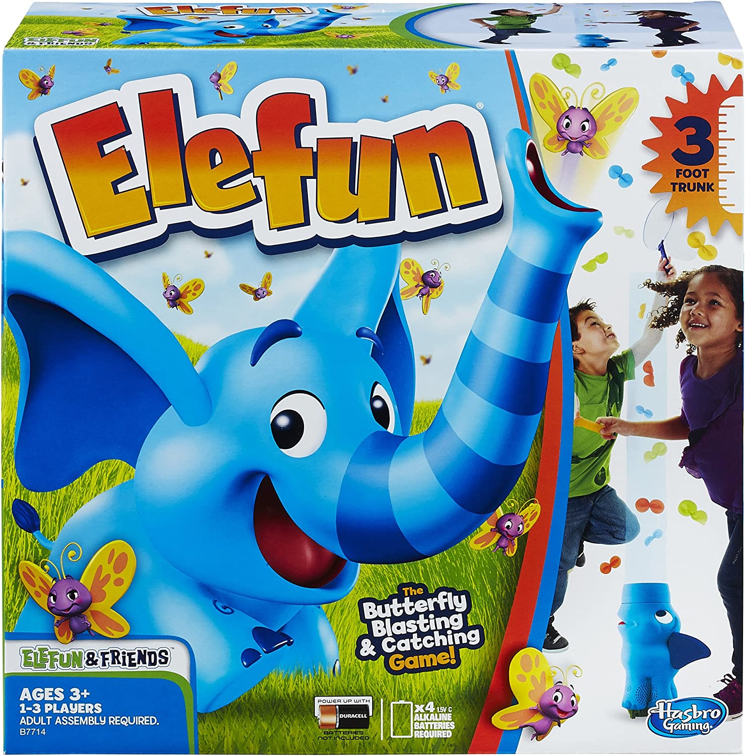 Hasbro Elefun and Friends Elefun Game with Butterflies and Music Kids Ages 3 and Up (Amazon Exclusive)