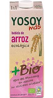 YOSOY Ecologico Bebida de Arroz Ecologica 1L [caja de 6 x 1L]
