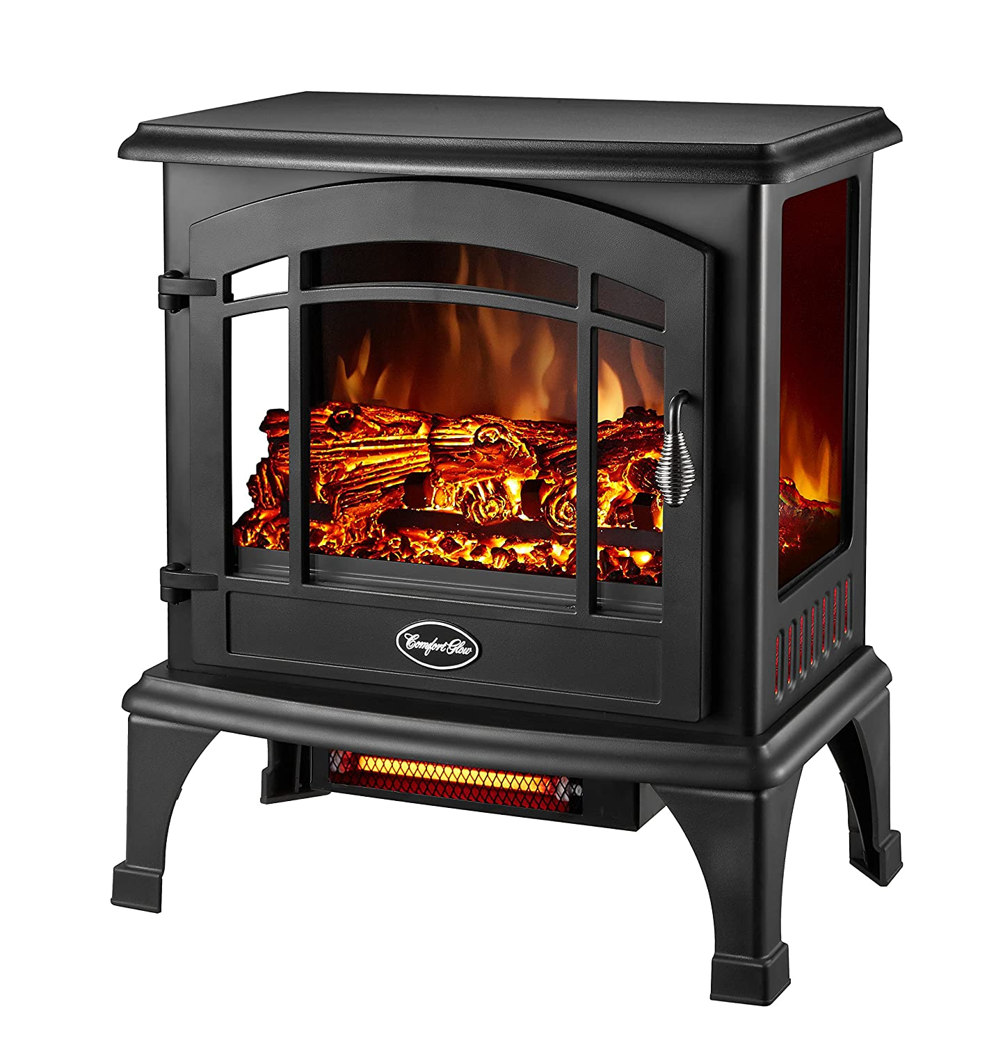 amazon com comfort glow eqs5140 sanibel quartz electric stove