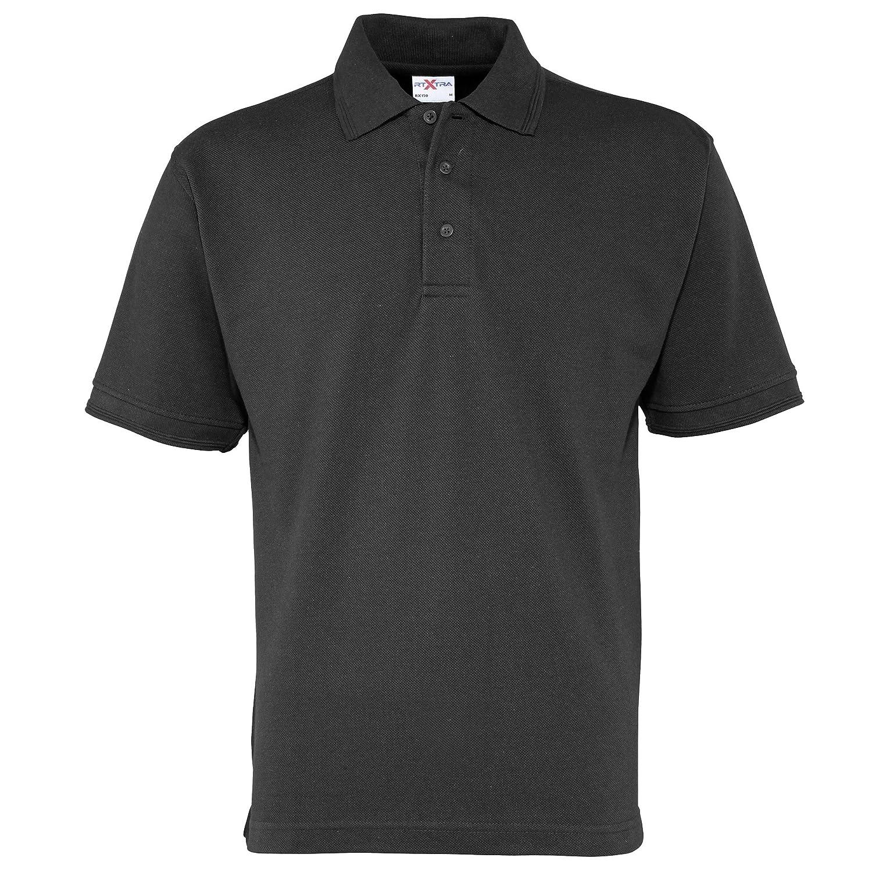 RTXtra Mens Premium Pique Knit Polo Shirt