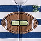 Halo Football Navy Blue Stripe Sleepsack Wearable