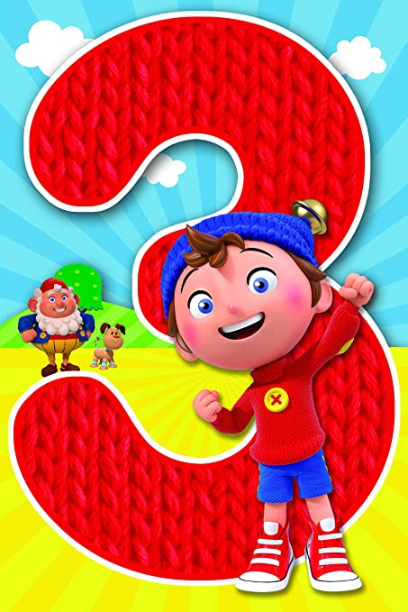 Image Unavailable Not Available For Color Noddy Happy 3rd Birthday Card