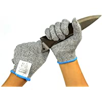 UncleHu Cut Resistant Gloves, Medium