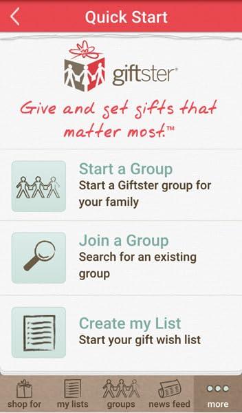 Christmas List Maker.Giftster Wish List Maker For Christmas Birthday
