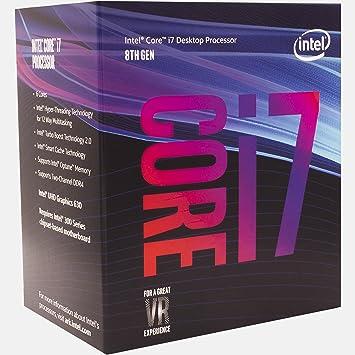 microprocesador Intel Core i7-8700