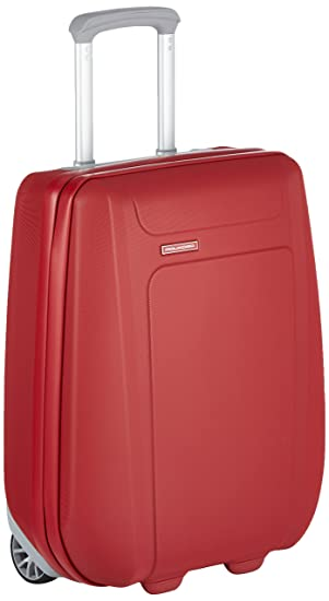 af7ba43e030b30 Piquadro Trolley suitcase, cabin size, 15 L, Red: Amazon.co.uk: Luggage