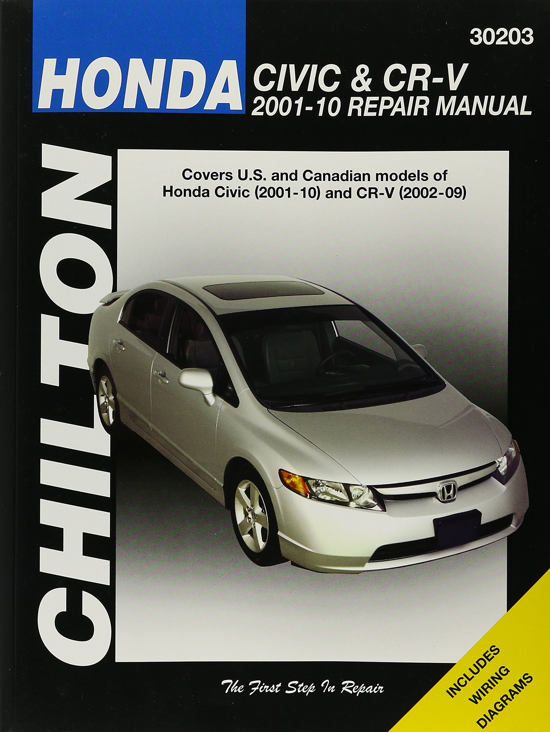 Honda Civic 2001-2010 & CR-V 2002-2009 (Chilton's Total Car