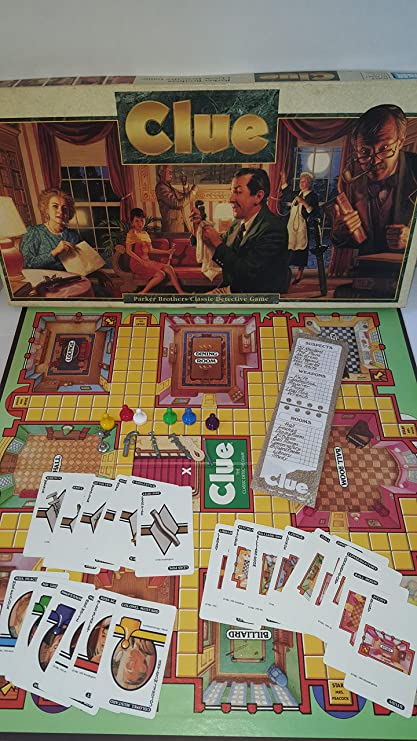 Clue Board Game: 1992 Version by Parker Brothers: Amazon.es: Juguetes y juegos