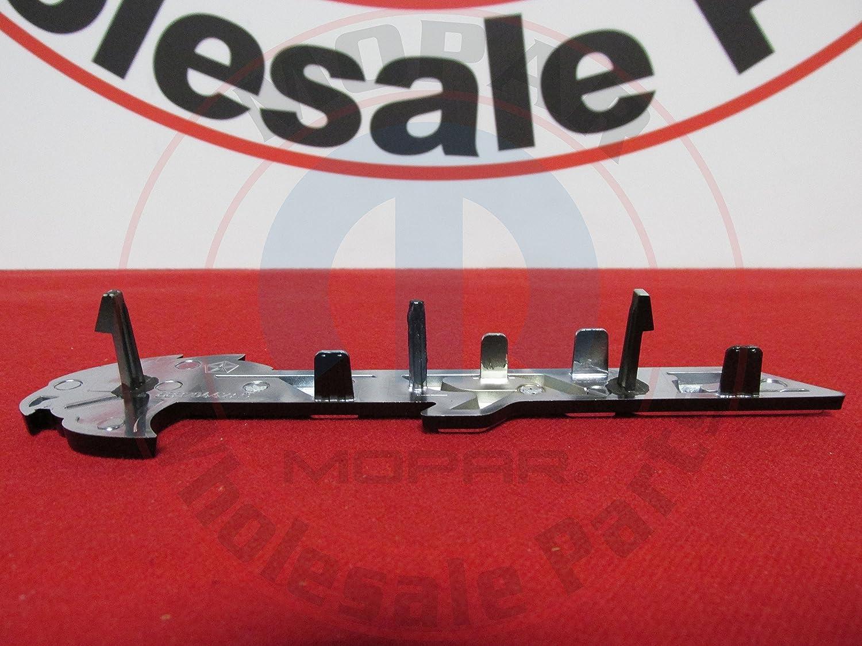 DODGE CHALLENGER SRT HELLCAT Black And Silver Grille Nameplate NEW OEM MOPAR