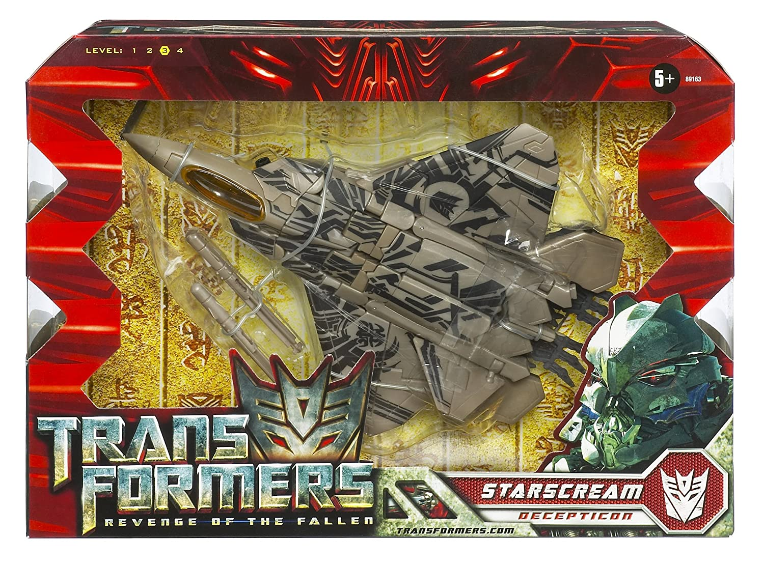 Transformers Voyager Starscream Hasbro 89163