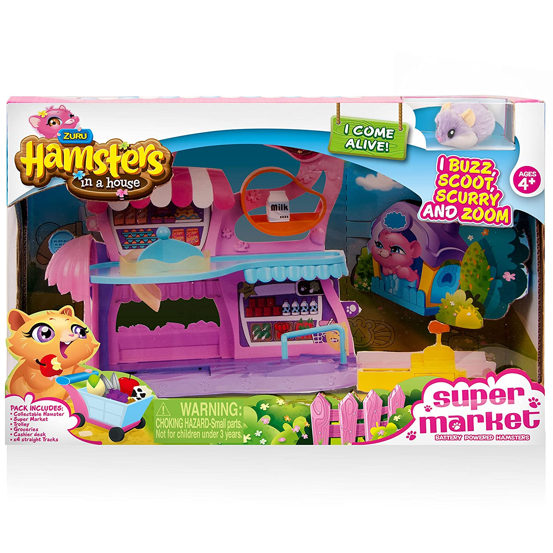 /6031573 Spielset Gro/ßes Haus Hamster in a House/
