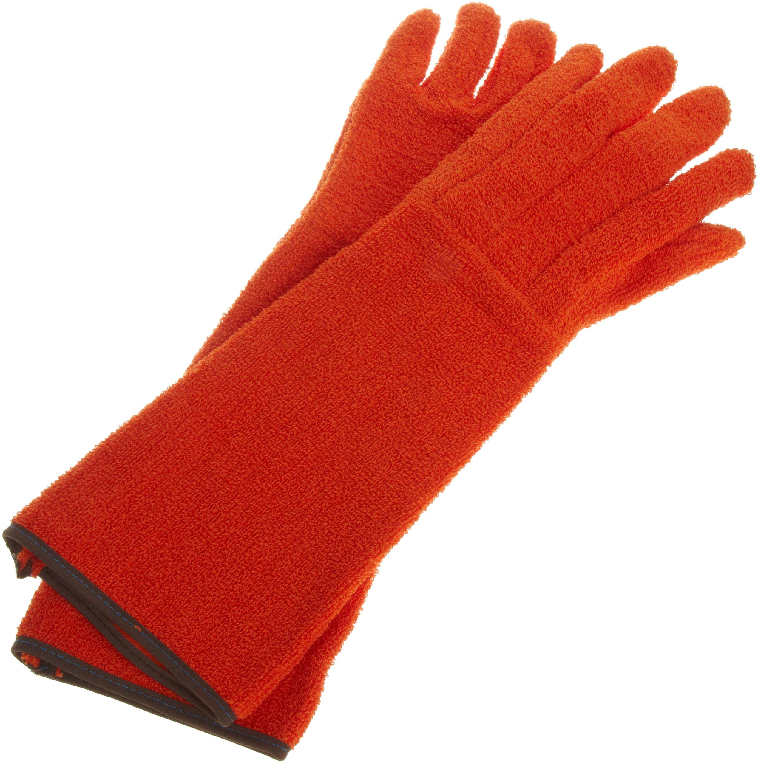 Bel-Art Clavies Heat Resistant Biohazard Autoclave/Oven Gloves; 11 in. Gauntlet (H13201-0001)