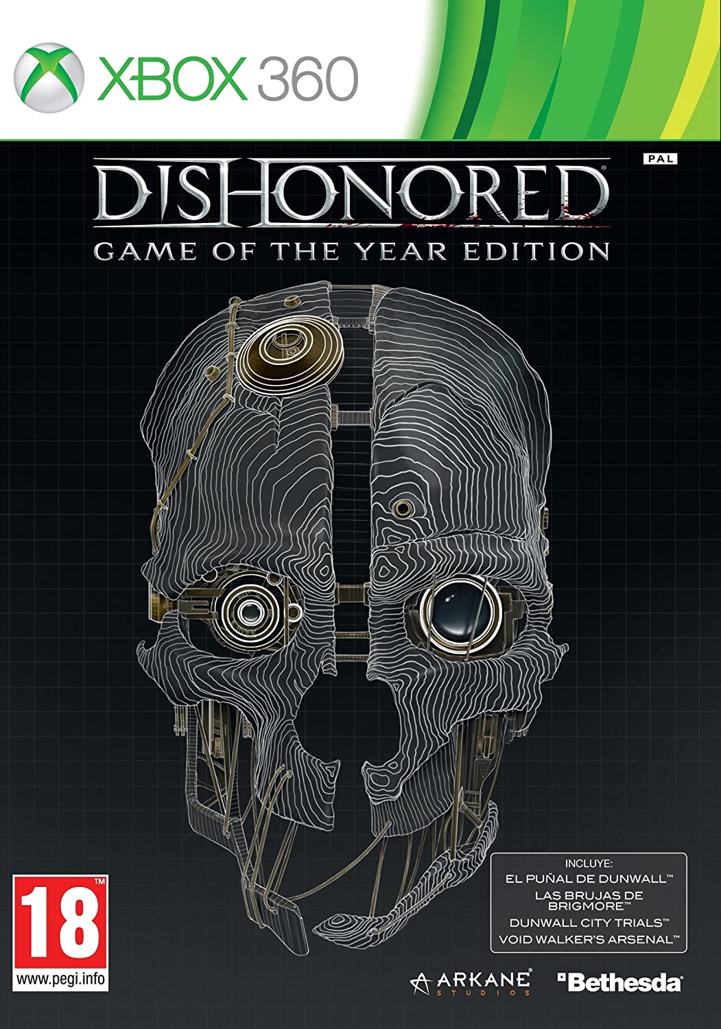 Dishonored - Game Of The Year Hits: Amazon.es: Videojuegos