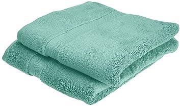 Pinzon - Juego de toallas de algodón Pima (2 toallas de mano), color