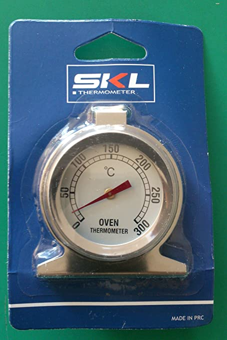 SKL Termómetro de Horno 50 ° - 300 ° de Interior o Exterior ...
